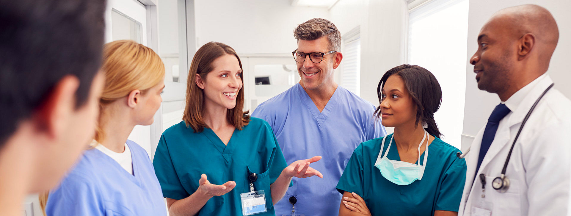 medical staff having a meeting